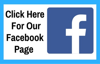 "Black text saying ""Click here for our facebook page"" with the f in a blue square for facebook's logo and a lighter blue border"